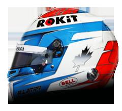 Nicholas Latifi Helmet | Williams F1