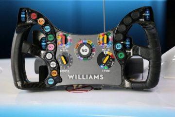 Kubica Steering Wheel