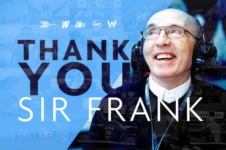 Thank You Sir Frank Williams