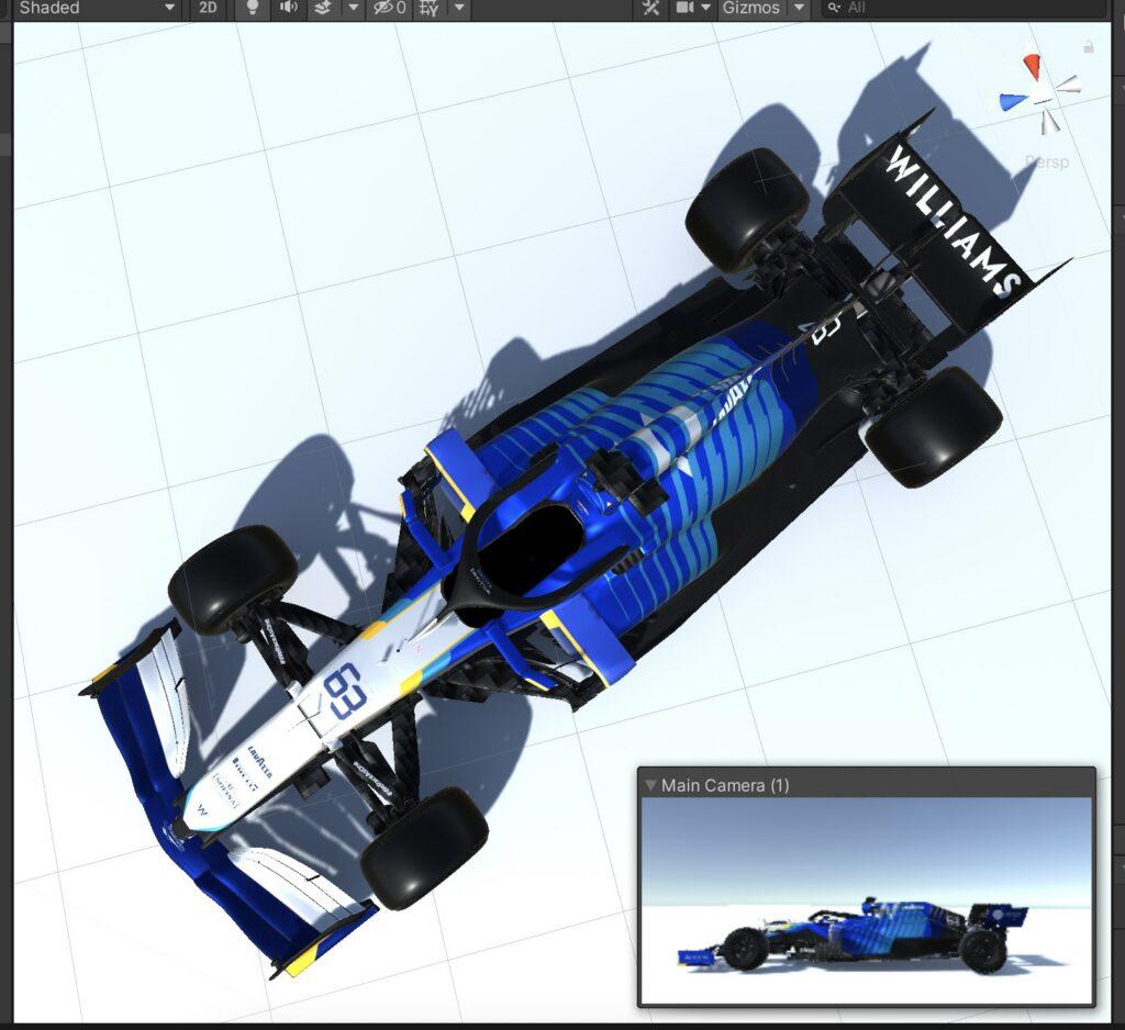 Williams FW43B leaked online