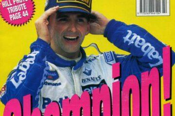 Damon Hill World Champion 1996   Williams