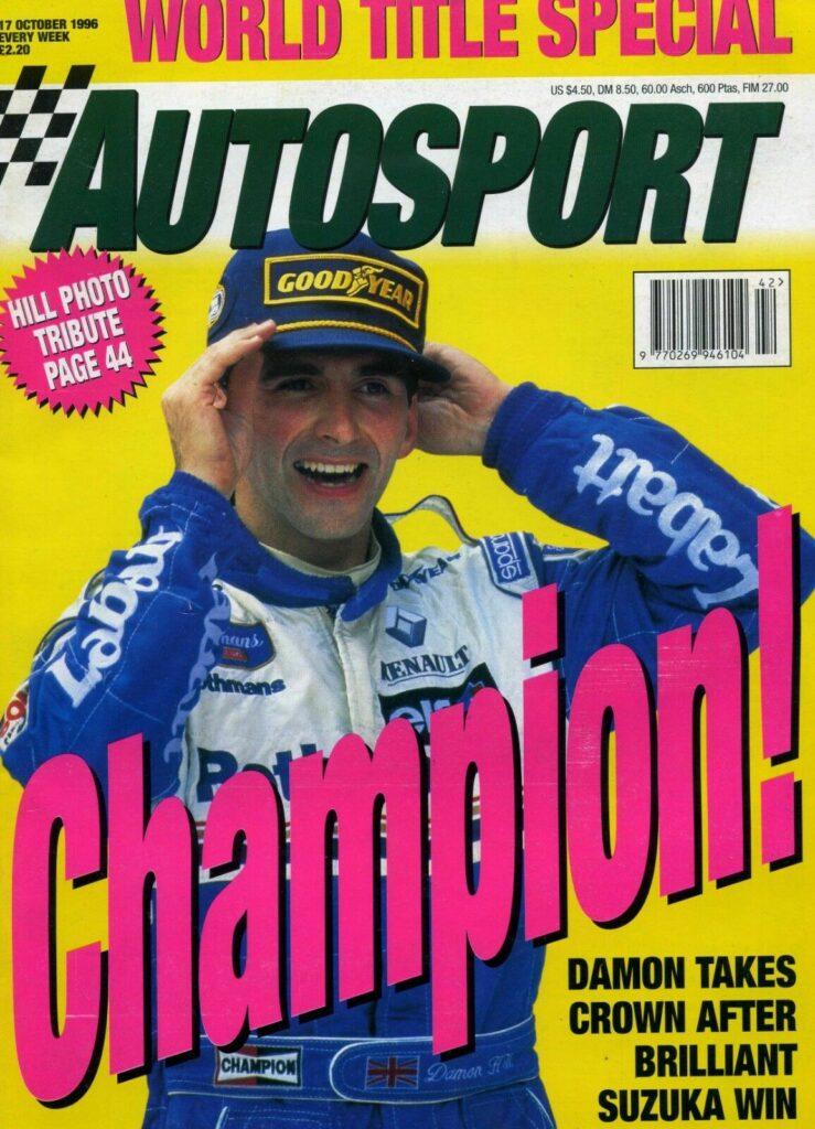 Damon Hill World Champion 1996 | Williams